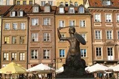 Польша фото - рыночная площадь
