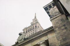 Польша фото - Дворец культуры и науки