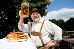 Немецкое пиво с сосиськами